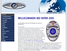 Tablet Preview of inter-dek.ch